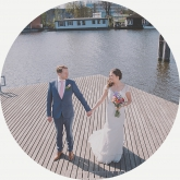 wedding in amsteram zuid